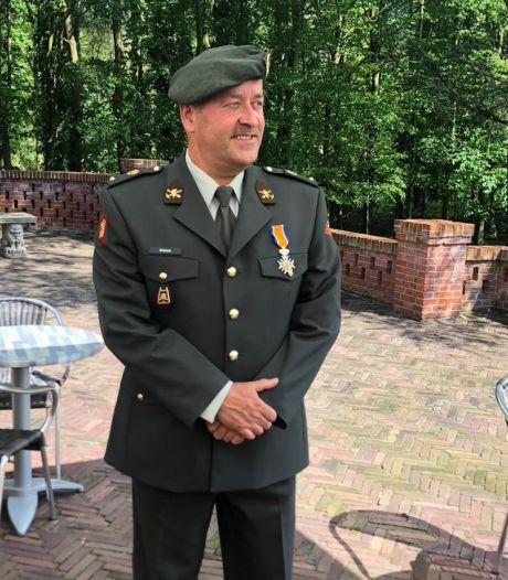 Onderofficier Beljaars koninklijk onderscheiden