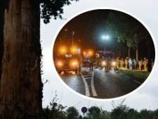Politie over ernstig auto-ongeluk in Broekland: bestuurder minderjarig en zonder rijbewijs