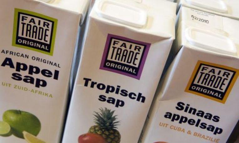 De Wereldwinkel in Heemskerk met veel Fair Trade producten. ANP Beeld