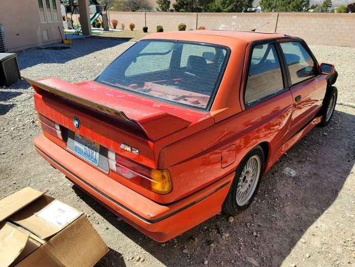 Zeldzame BMW M3.