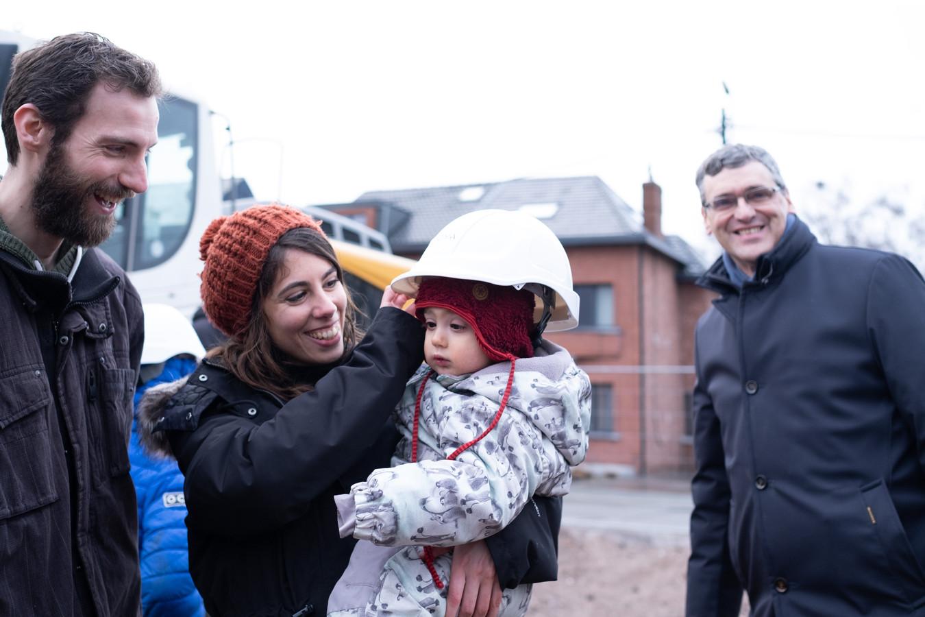MUIZEN Start werken woondorp Noaze met een werfbezoek met toekomstige bewoners