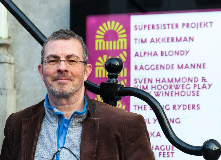 Fred Baggen. De auteur is tegelijk ook uitgever van het boek. Beeld Judith Zandwijk
