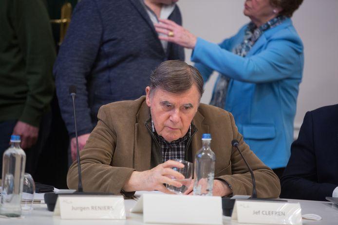 Oud-burgemeester Jef Cleeren (CD&V) mocht zijn voorstel gisteren niet op de gemeenteraad brengen