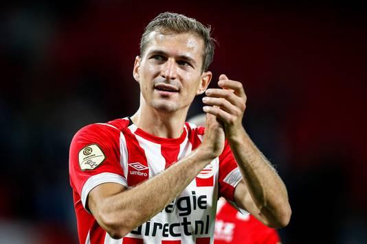 Daniel Schwaab is uitstekend aan het seizoen begonnen met PSV.