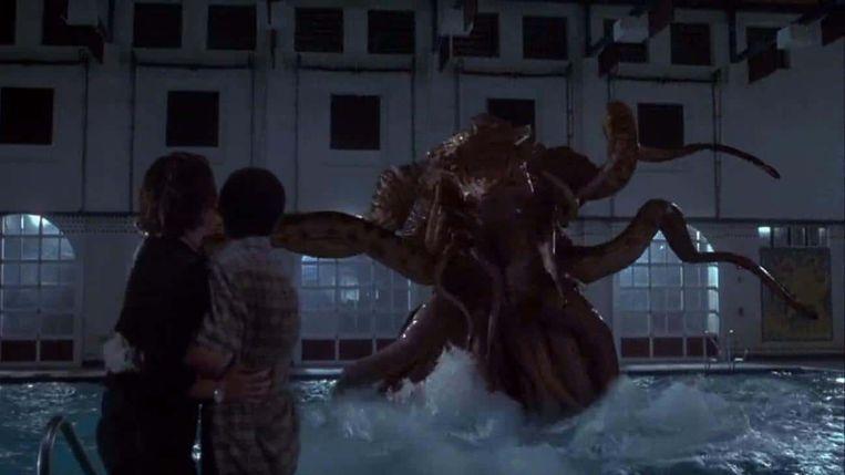 Alien in The Faculty. Beeld ..