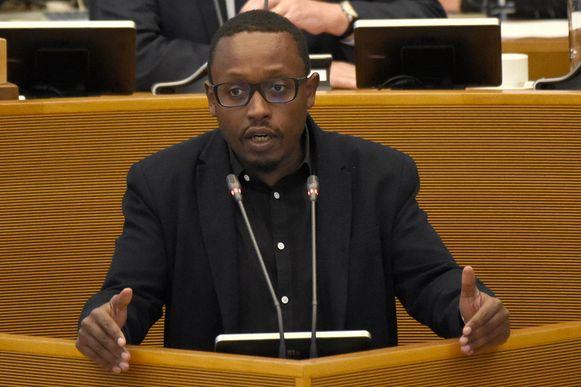 De Waalse politicus Germain Mugemangango.