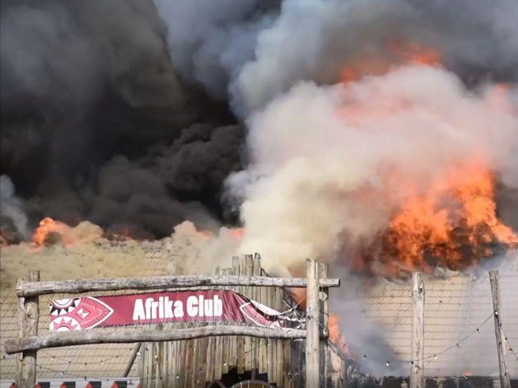 Beekse Bergen neemt schade op na enorme brand: 'Tranen in m'n ogen'