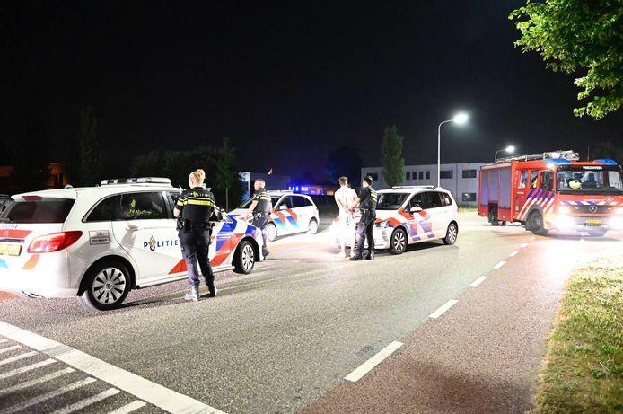 Na de achtervolging zijn er twee personen aangehouden.