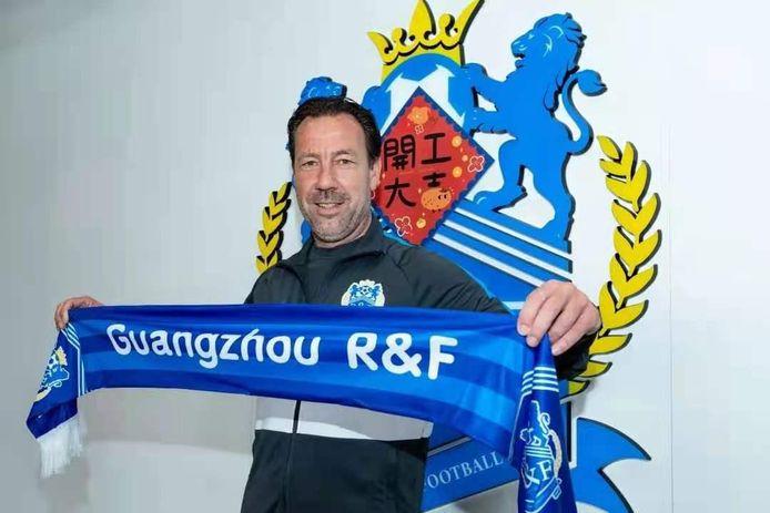 Jean-Paul van Gastel is terug in Guangzhou, voor zijn vuurdoop als hoofdtrainer.