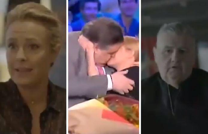"""Il y a neuf ans, Pierre Ménès avait embrassé de force Isabelle Moreau, alors coprésentatrice, lors d'un anniversaire du """"Canal Football Club"""""""