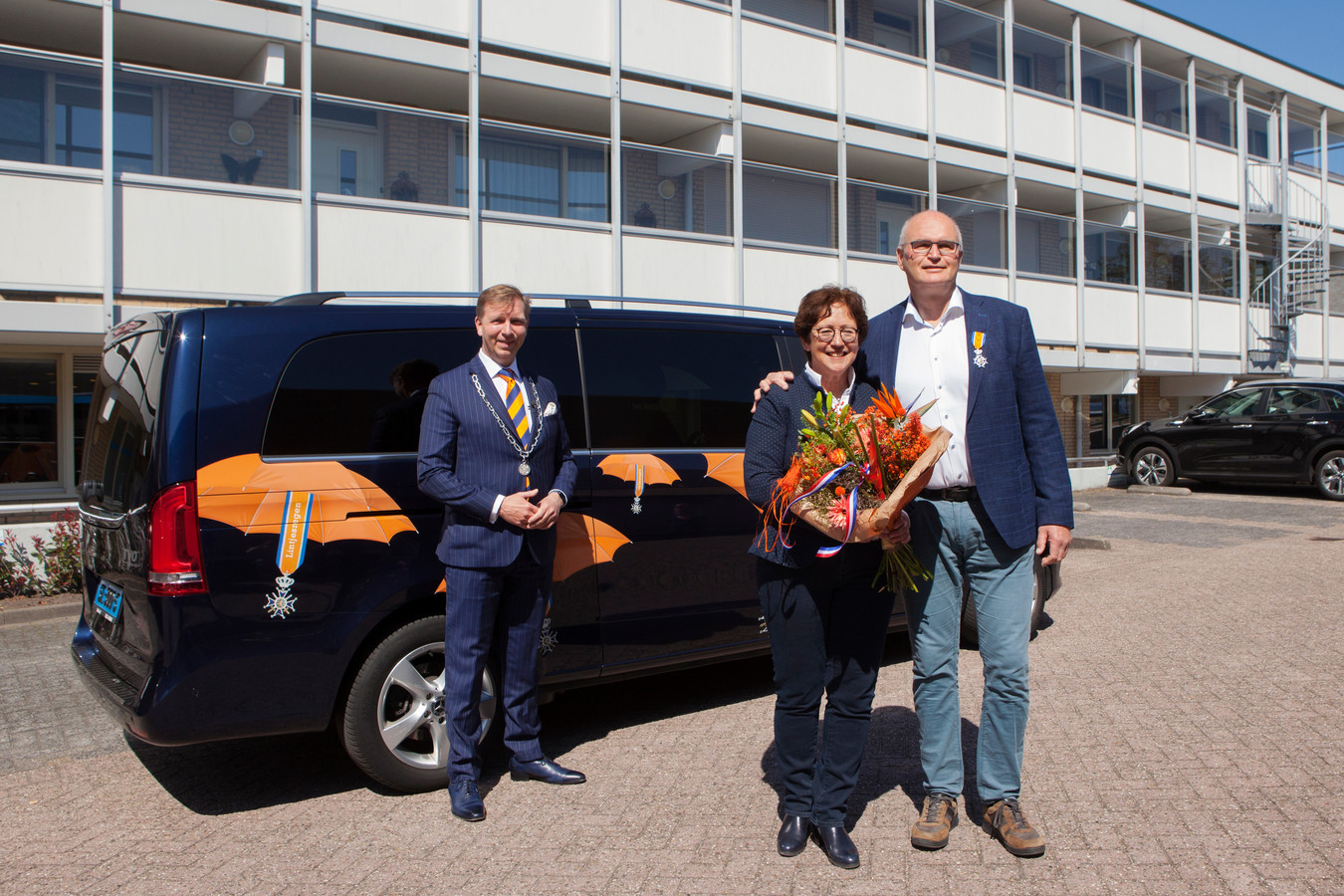 Arie Brouwer is Ridder in de orde van Oranje-Nassau
