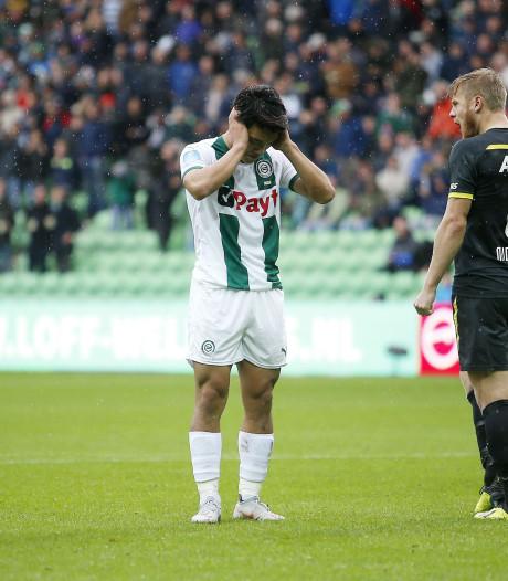 Zorgen FC Groningen nemen toe na nieuwe nederlaag