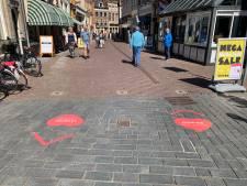 'Plakken met die hap': Er komen definitief meer hartenstickers bij in Zutphen