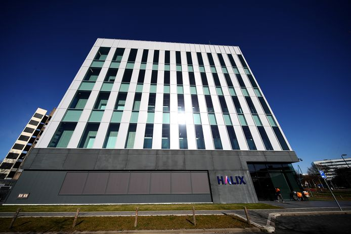 De Halix fabriek op het Leidse biosciencepark.