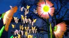 fotoreeks over Londen baadt in licht en kleur tijdens straatfestival Lumiere