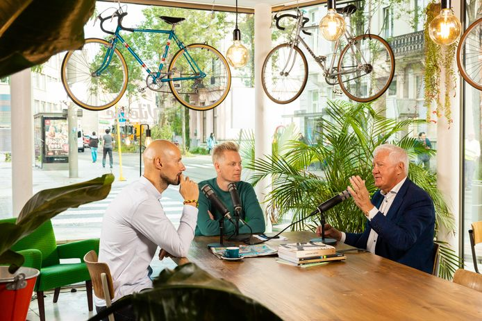 Tom Boonen, Stijn Vlaeminck en Patrick Lefevere in onze HLN Sportcast.