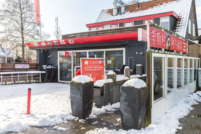 Het restaurant van Hsu Lai Yu aan de ds. T.O. Hylkemaweg in Giethoorn.