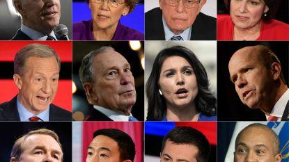Voorverkiezingen worden maandag afgetrapt in VS: wie is koploper bij Democraten? En kunnen die blok vormen tegen Trump?