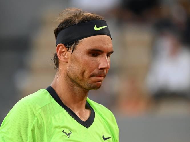 """Nadal past voor Wimbledon en Olympische Spelen: """"Als ik naar mijn lichaam luister, is dit de juiste beslissing"""""""