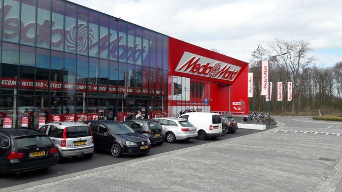 Media Markt op de Woonboulevard in Den Bosch, gebouwd door Bouwgroep Moonen