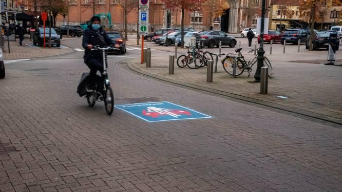 "Fietsersbond stelt zich vragen bij fietsstraten in centrum: ""Fietsers als buffer is achterhaald idee"""