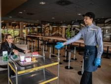 McDonald's doet test met coronaproof restaurant
