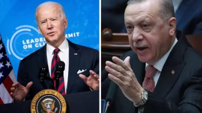 """Erdogan: """"Biden heeft bloed aan zijn handen vanwege steun aan Israël"""""""