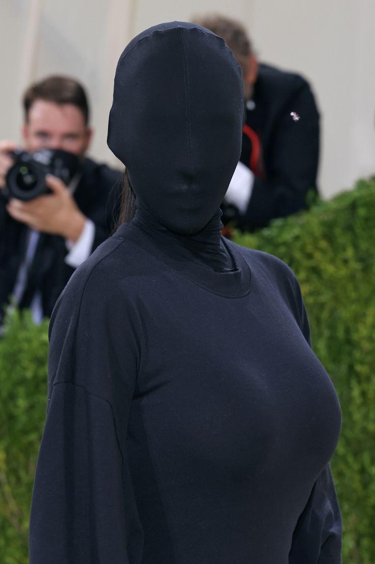 Kim Kardashian (?) op het Met-gala. Beeld WireImage