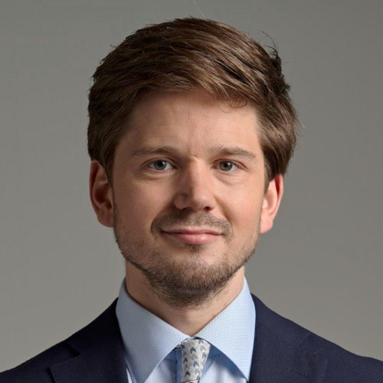 Gideon van Meijeren, voormalig beroepsmilitair en wetgevingsjurist op het ministerie van Binnenlandse Zaken. Beeld