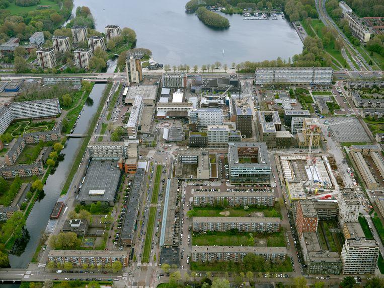 Het gebied rond het Osdorpplein in Amsterdam Nieuw-West. Beeld Hollandse Hoogte