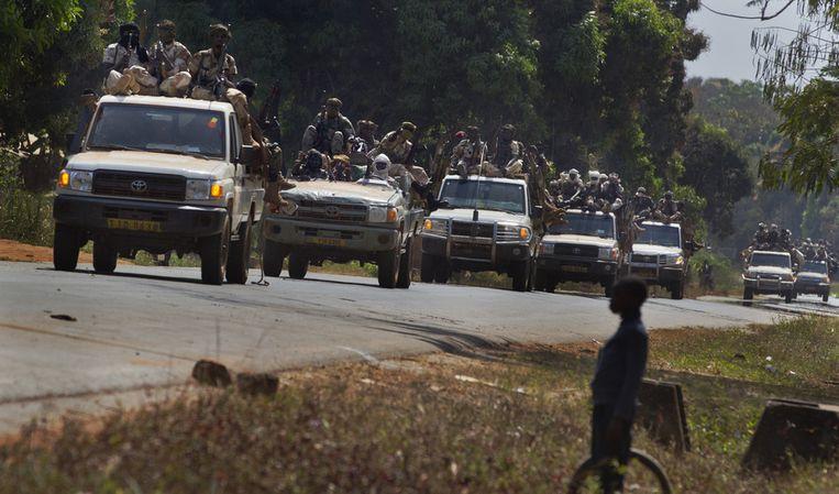 Illustratiefoto. Soldaten in de hoofdstad van de Centraal-Afrikaanse Republiek.