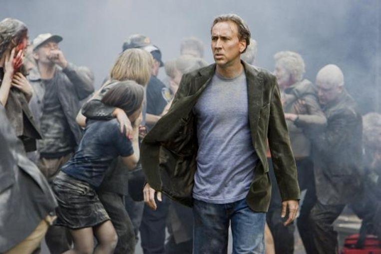 Nicolas Cage in 'Knowing'. Beeld