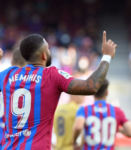 Optimisme in Camp Nou: Memphis Depay, Luuk de Jong en Ansu Fati geven Ronald Koeman wat lucht