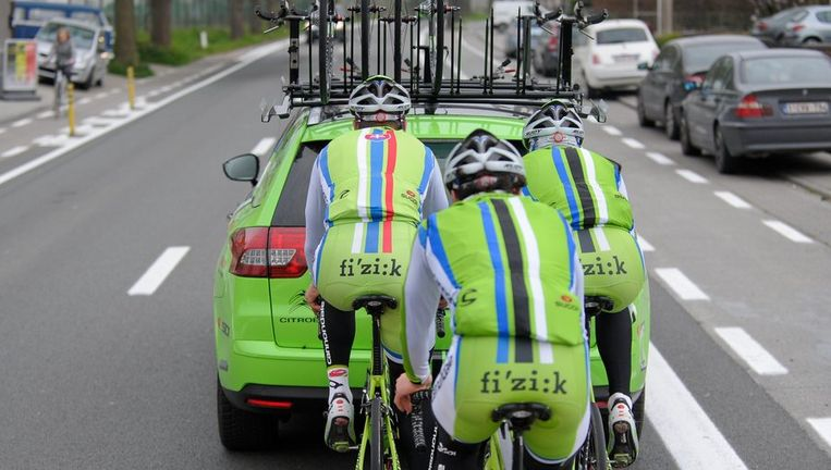 Agostini was in 2013 ploegmaat van Peter Sagan bij Cannondale. Beeld PHOTO_NEWS