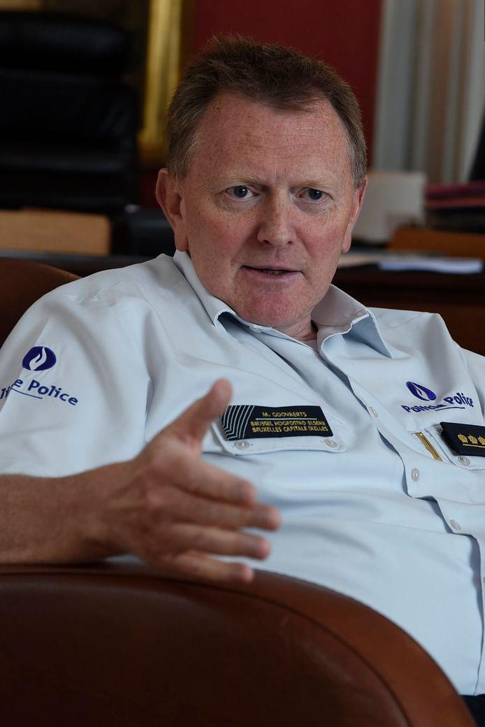 De Brusselse korpschef Michel Goovaerts.