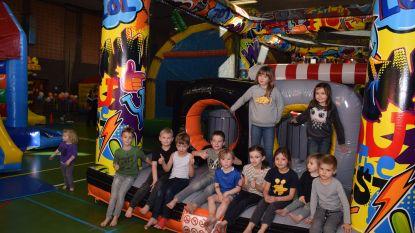 Studenten 7e jaar Business  bezorgen honderden  kinderen een leuke dag