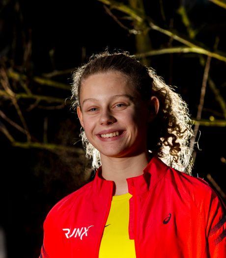 Goed voor goud: Apeldoornse Tess van Randtwijk pakt Nederlandse juniorentitel op 3000 meter