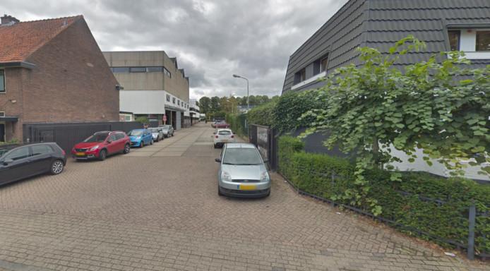 De oprit van het distributiecentrum van Hunkenmöller in Hilversum