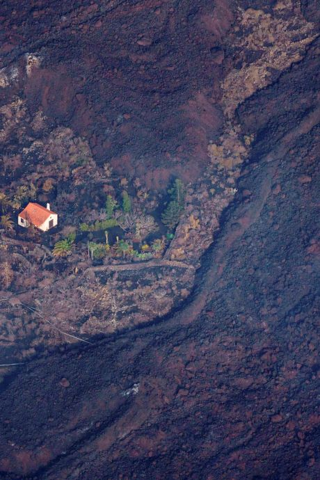 'Wonderhuisje' van Nederlandse dat vulkaan La Palma overleeft gaat de hele wereld over