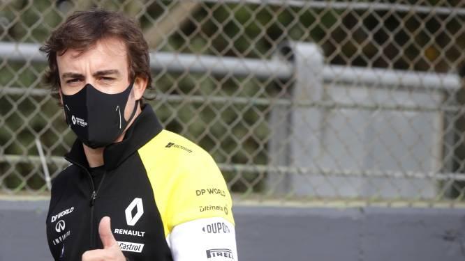 Herstelde Alonso maakt dit weekend zijn rentree in de Formule 1