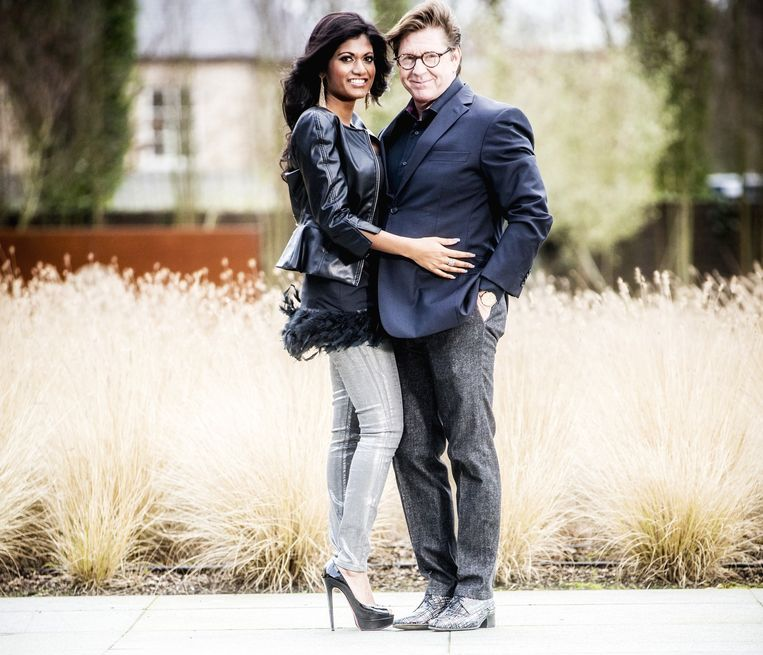 Philip Cracco, die Rodania opkocht, en zijn vriendin Aisha Van Zele. Beeld