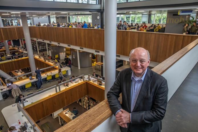 TUe bestuursvoorzitter Jan Mengelers in Eindhoven gaat met pensioen.