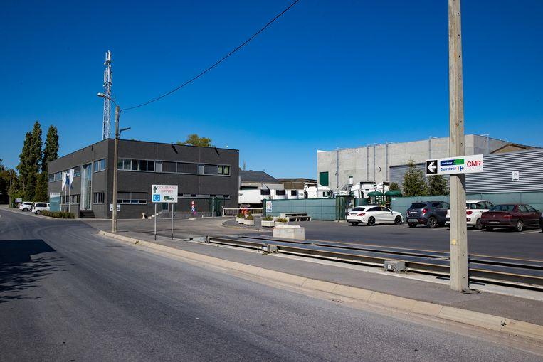 Het bedrijf Westvlees in Westrozebeke.