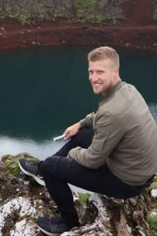Ex-Eagle Wout Droste avonturiert in het land van vuur en ijs: 'Na onze bizarre handhaving zag ik het noorderlicht'