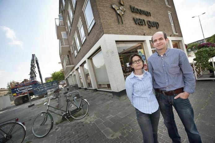 Bloemenzaak van gurp verdwijnt van dr struyckenplein in for Bloemist breda