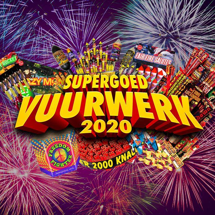 Logo van de actie Supergoedvuurwerk.nl