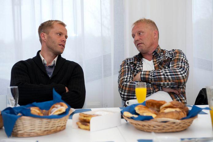 Eidur en Arnor Gudjohnsen.