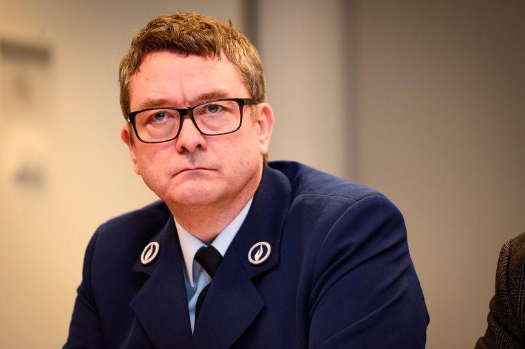Politiewoordvoerder Peter De Waele. Beeld BELGA