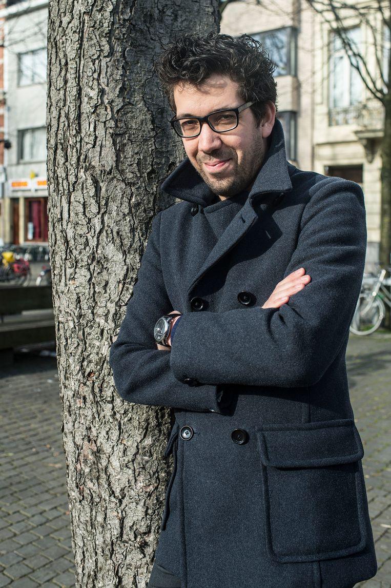 Imade Annouri, Vlaams parlementslid voor Groen.  Beeld