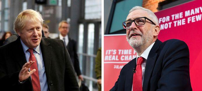 Boris Johnson et Jeremy Corbyn